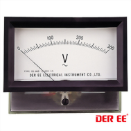 DE-860F Analog panel meter