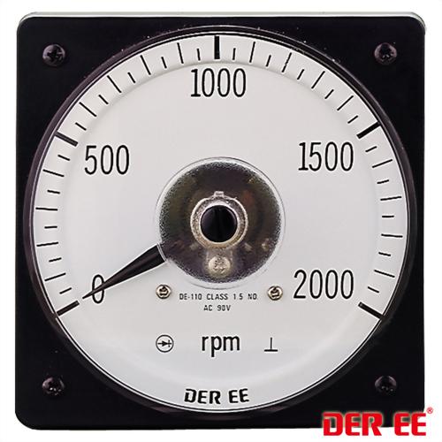 DE-110 Analog panel meter