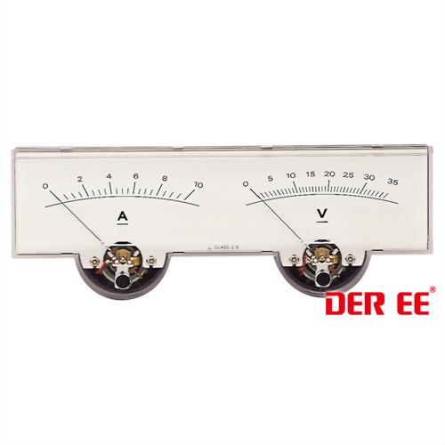 DE-1902 Analog panel meter