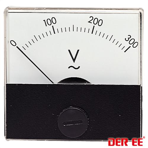 DE-500 Medidor de panel analógico