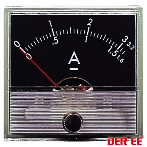 DE-550 Analog panel meter