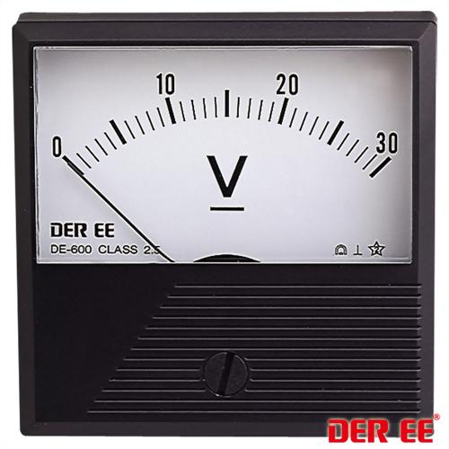 DE-600 Medidor de panel analógico