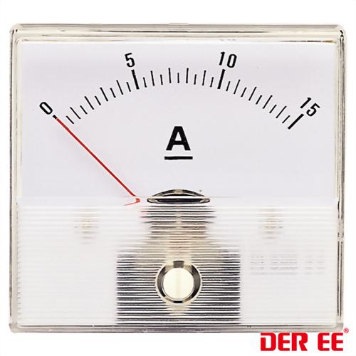 DE-663 Medidor de panel analógico