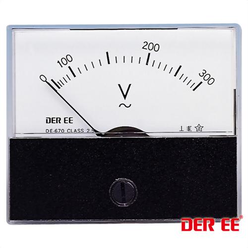 DE-670 Analoge Einbauinstrument