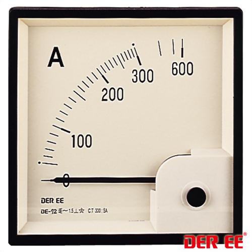 DE-72 Medidor de panel analógico