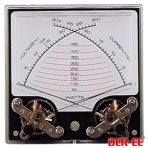 DE-7202 Medidor de panel analógico