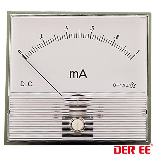 DE-786 Medidor de panel analógico