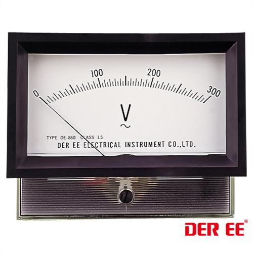 DE-860F Medidor de panel analógico