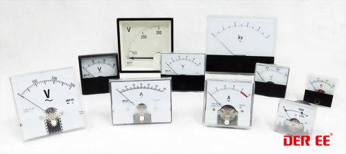 Medidor de panel analógico / Medidor de voltaje / Medidor de corriente