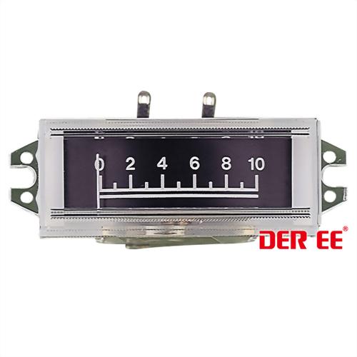 DE-1745 VU panel meter