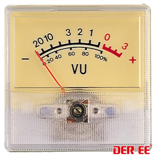 DE-2237 VU panel meter