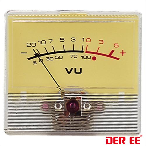 DE-2544 VU panel meter