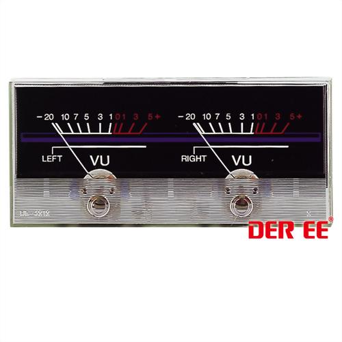 DE-3212 VU panel meter