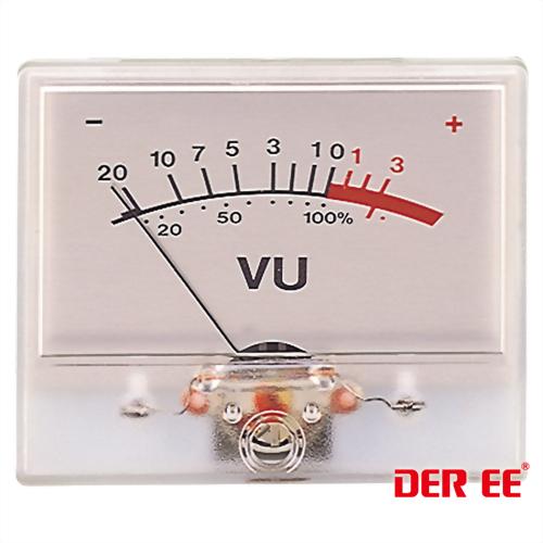 DE-3560 VU panel meter