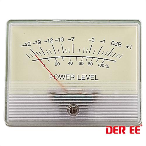DE-4585 VU panel meter