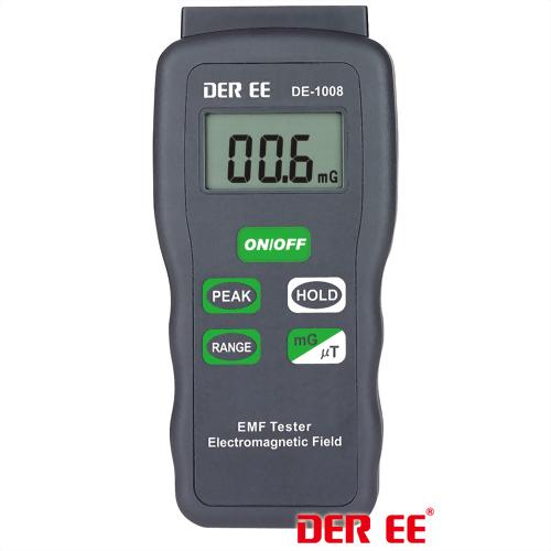 Detector de campo electromagnético / Gausiómetro