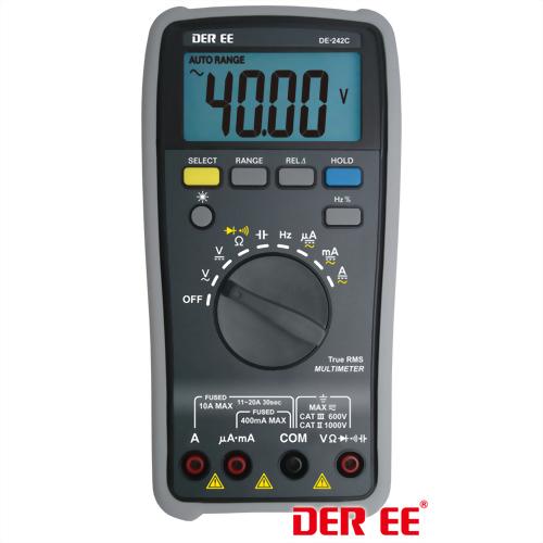 DE-242C Multímetro Digital(D.M.M)