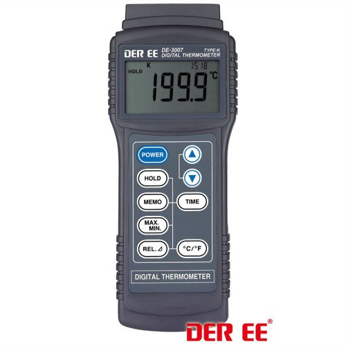 DE-3007 K-TYPE Digital Thermometer