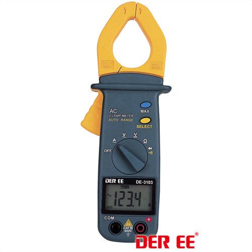 DE-3103 AC Clamp Meter (Pocket Size)