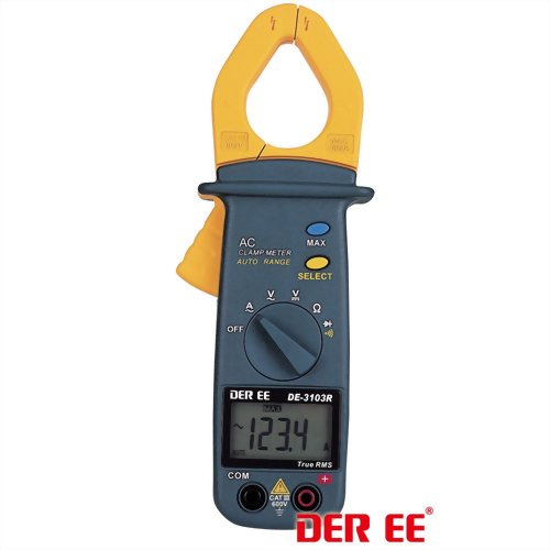 DE-3103R AC Clamp Meter (Pocket Size)