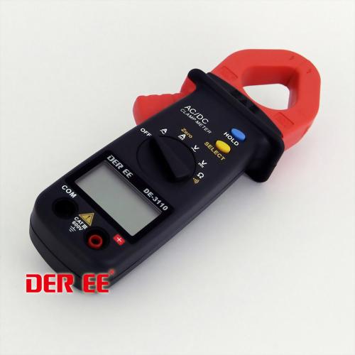 DE-3110 Medidor de pinza de CA/CC de bolsillo