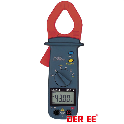 DE-3110 AC/DC Clamp Meter (Pocket Size)