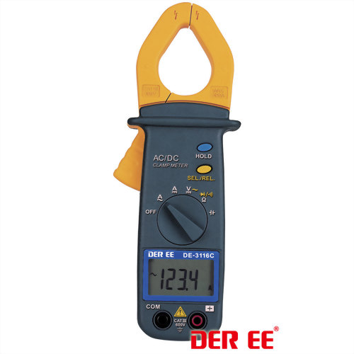 DE-3116C AC/DC Clamp Meter (Pocket Size)