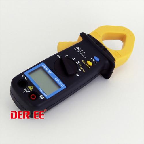 DE-3117 Medidor de pinza de CA/CC de bolsillo