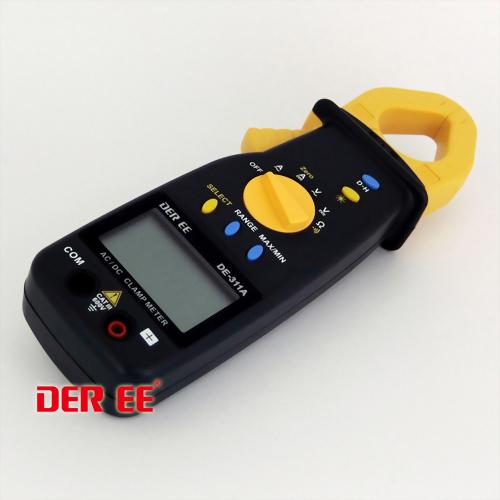 DE-311A Medidor de pinza de CA/CC