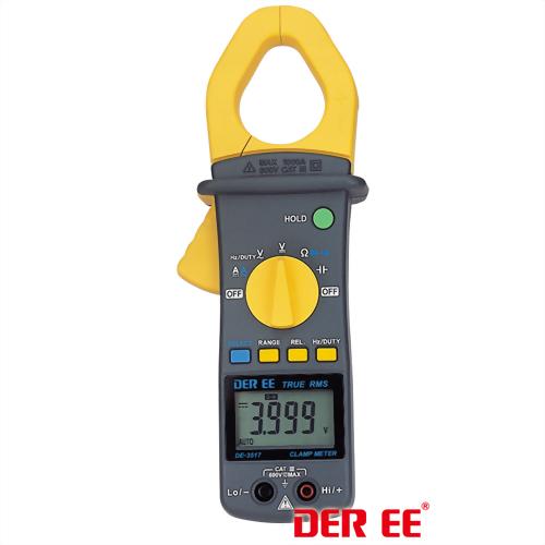 DE-3517 AC/DC Clamp Meter