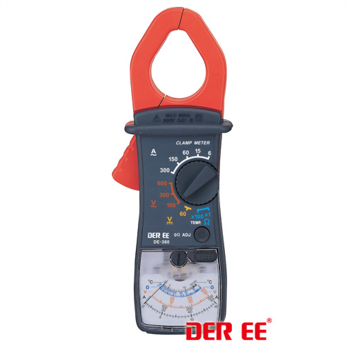 DE-380 Analog Clamp Meter
