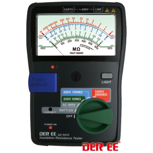 DE-5010 Insulation Resistance Tester