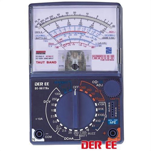 DE-961TRn Multímetro Analógico
