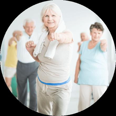 Programma di fitness per adulti più anziani