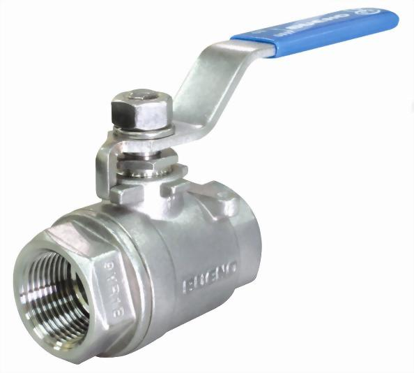 Two Piece Ball Valve-Threaded End