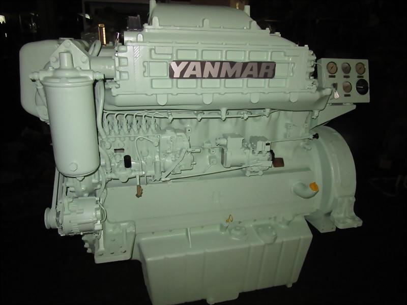 Yanmar 6HAL-DTN