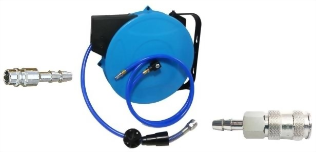 Wall-Mounted Auto-Rewinder Air Hose Reel
