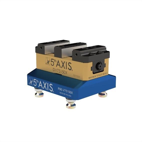 雙工位虎鉗 硬式鉗口 R96-DV75150X-J1