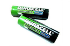 Chargeable Battery Duracell 2650mA