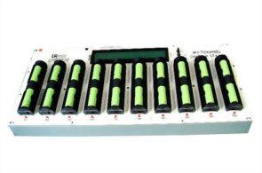CHR-1010 十充槽电池充电台