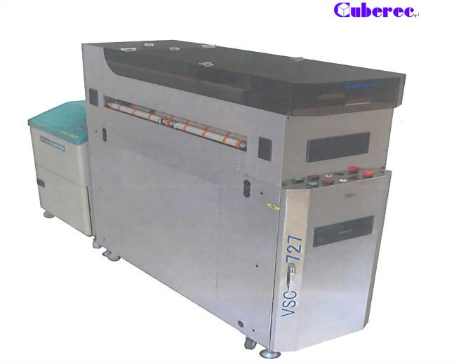 基板清潔機-毛刷式基板清潔機-產品型號:VSC-727