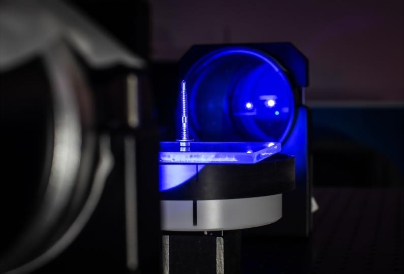 光學技術快速量測螺絲全尺寸