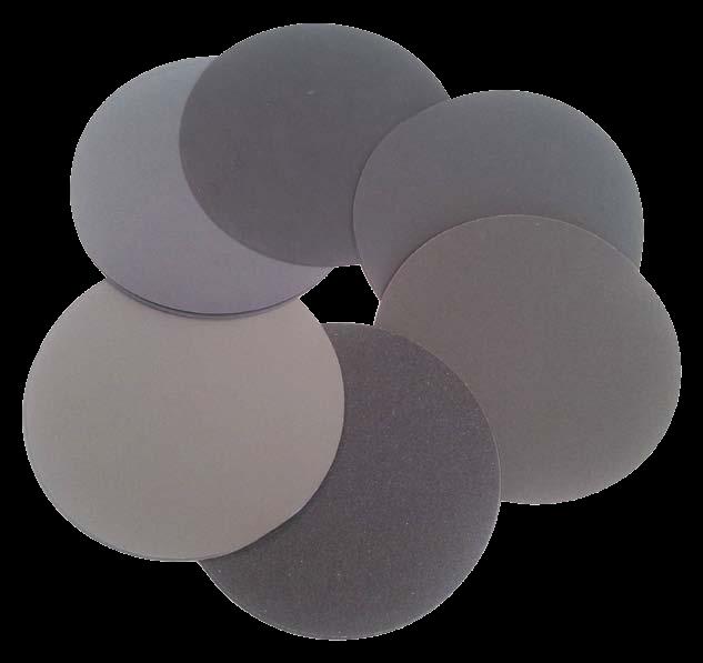 非背膠式碳化矽砂紙
