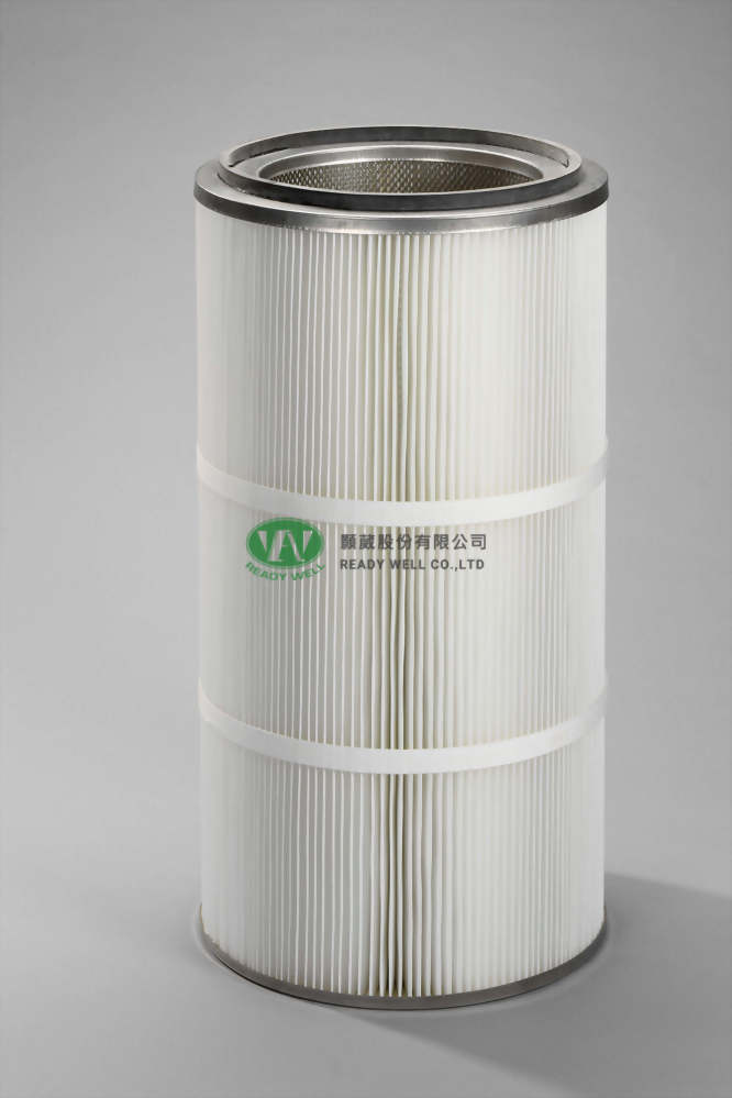 Well-Fib-PTFE 彈匣式濾材