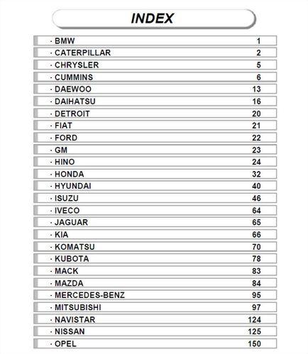 Head Gasket Catalog INDEX 20190417