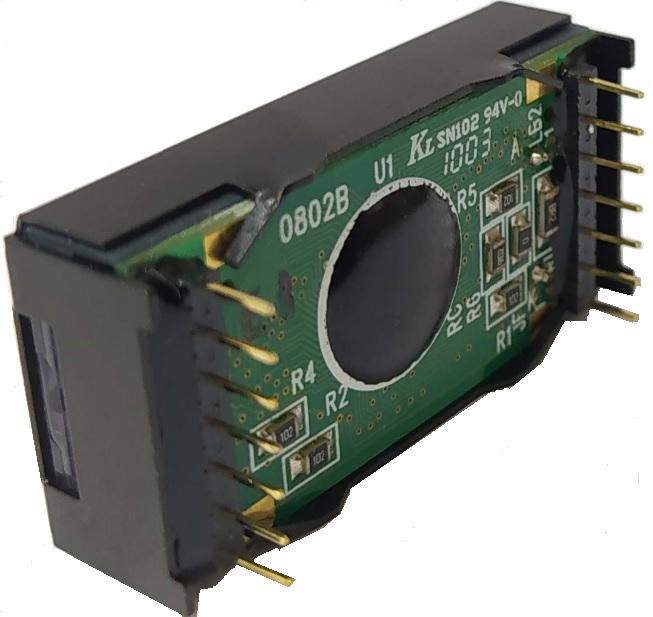 8x2 Character LCD , BC0802B profile