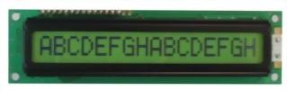 16x1 Character LCD , BC1601D