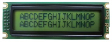 16X2 Character LCD , BC1602B