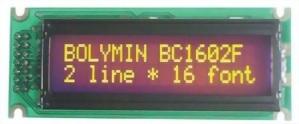 16x2 Character LCD, BC1602F