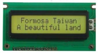 16x2 Character LCD, BC1602H